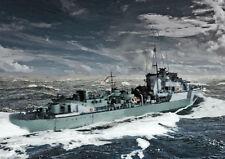 HMS ONSLOW - ARCTIC CONVOYS WW2 - LIMITED EDITION ART (25)