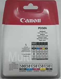 Canon CLI 581 Multipack original Tintenpatronen f. Pixma TR 7550 TS 8150 TS 9150