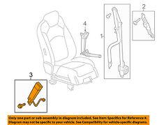 GM OEM Front Seat Belt-Buckle End 19209515
