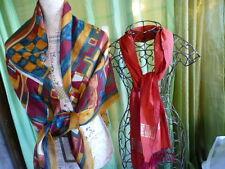 lot    foulard- étole+une écharpe fils de soie neuve