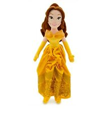 "Disney Store Deluxe Princess Belle  Plush w/ Winter Coat Toy Doll 21"" NEW Gift"