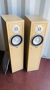 Eltax Liberty Front Floorstanding Speakers 100-150W, 4-8 Ohms Beech Colour