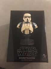 Star Wars Gentle Giant Shoretrooper Classic Mini Bust Sealed Brand New not weta