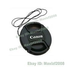New 52mm -77mm Snap-on Front Lens Cap For Canon