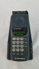 MOTOROLA POCKET CLASSIC 910 VINTAGE CELL PHONE WITH CHARGING STATION & BATT CDMA