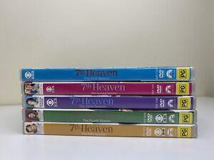 7TH SEVENTH HEAVEN   Complete Season 1 - 5   DVD Series Box Set TV Show   R4
