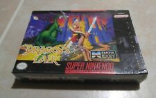 Dragons Lair Super Nintendo SNES Game -Factory Sealed Rare