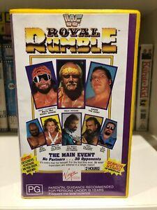 WWF ROYAL RUMBLE - 1989 WRESTLING - VHS