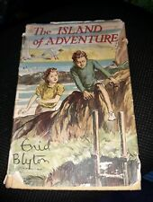 ENID BLYTON The Island of Adventure 1952 Book - Rare 1st Edition ☆