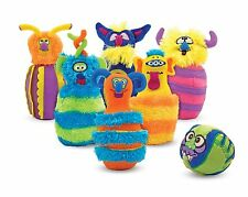 L@@K Melissa and Doug Monster Bowling Game Soft Baby Toy Ships Global 2191 NEW
