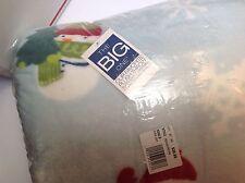New! The Big One Super Soft Plush Throw SNOWMAN: 5'X6'  RN# 73277