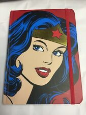 Mujer Maravilla de DC Comics Oficial Diseño Retro Cartera De Viaje Y Diario Rígida posterior