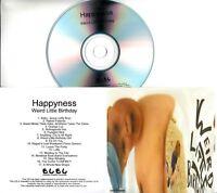 HAPPYNESS Weird Little Birthday 2015 UK 17-trk promo test CD