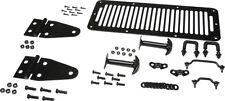 Kentrol Hood Kit Black Stainless Jeep CJ Wrangler YJ 1978-1995 50470