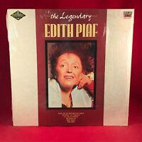 The Legendary Edith Piaf 1989 UK Vinyl LP EXCELLENT CONDITION Best of B