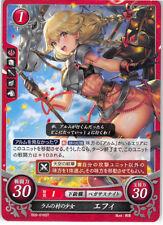 Fire Emblem 0 Cipher Echoes Trading Card Faye Effie B09-016ST Maiden of Ram Vill