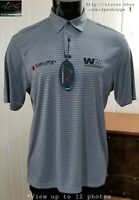 NEW Greg Norman PRO -Charley Hoffman Waste Management- Golf Tour Polo Shirt M