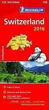 Switzerland 2016 National Maps 729 (Michelin Road Atlases & Maps)