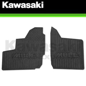 NEW 2019 - 2020 GENUINE KAWASAKI MULE PRO MX FLOOR MAT SET 99994-1187