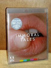 Immoral Tales (Blu-ray/DVD, 2015, 2-Disc Set) NEW Walerian Borowczyk film french