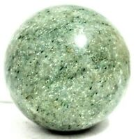"2 "" Green 256 Grams Gemstone  Sphere Reiki Chakra Healing Health Stone Sphere"