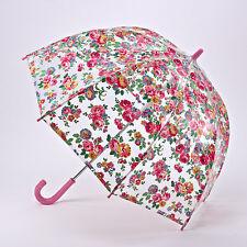 Cath Kidston Children's Funbrella Clear Birdcage Umbrella - Well Rose