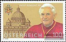 Österreich 2650 (kompl.Ausg.) postfrisch 2007 Papst