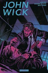 JOHN WICK VOL #1 GRAPHIC NOVEL Dynamite Comics Greg Pak, Giovanni Valletta TPB