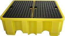 4 Drum Spill Pallet -BP4 485 litre Capacity 480mm High