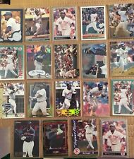 MO VAUGHN 19 Baseball Card Lot BOSTON RED SOX NM/M Condition Includes Rookie L6