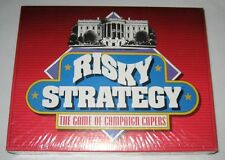 Risky Strategy The Game of Campaign Capers Nib New Unopened.
