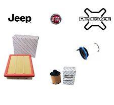 Kit Filtri Tagliando Originali Fiat 500X Jeep Renegade 1.6 2.0 Mjet CRD