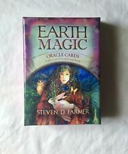 Earth Magic Oracle Cards ORIGINAL deck, LARGE size, complete, great shape