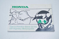 OEM Honda 00X51-OFF-6000, 510FF600 Tips and Practice Guide for The Off Highway M