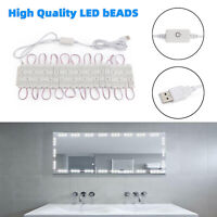 10Ft Dimming LED Vanity Lights Lamp for Makeup Mirror Kit 60 LED Style White G