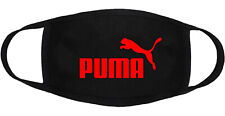 Puma - Face Mask Adult Youth Fashion 2 Layers 100% Cotton Made in US