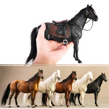 JXK 1/12 German Hannover Horse Statue Animal Model Figure Warm-blood Horse Toy