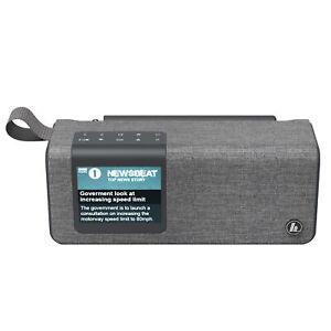 hama Portables Digitalradio DR200BT, UKW/DAB+, Akkubetrieb, Bluetooth-Lautsprech