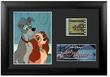 Film Cell Genuine 35mm Framed & Matted Disney Lady & the Tramp Spec Ed USFC5889
