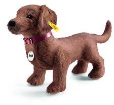"""STEIFF"""" WALDI DACHSHUND"""" EAN 078712 RUSSET ALPACA- CHARMING  DOGGY!"""