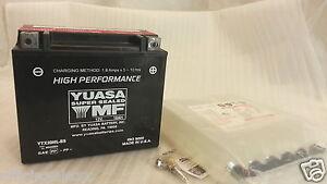 Batterie YUASA YTX20HL-BS lung.175 larg.87 alt.155 MM