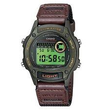 Casio 50 Meter Digital Strap Watch, Chronograph, Alarm, Nylon Strap, W94HF-3AV