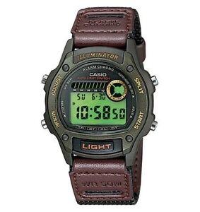 Casio W94HF-3AV, 50 Meter Illuminator Watch, Chronograph, Alarm, Nylon Strap