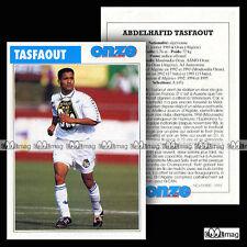 TASFAOUT ABDELHAFID (MOULOUDIA ORAN, AJ AUXERRE) - Fiche Football 1995