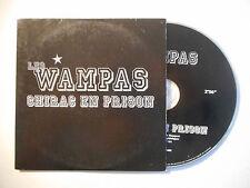 LES WAMPAS : CHIRAC EN PRISON ♦ CD SINGLE PORT GRATUIT ♦