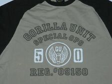 Euc G-Unit Gorilla Unit Special Ops T Shirt ( Roomy Men's L)