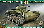 Ace 72540 - 1:72 t-60 Soviet Light Tank (Zavod #264,m1942) - nuevo