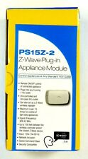 PS15Z-2  LINEAR Z-Wave Wireless Remote 15A 120V Plug-In On/Off Appliance Switch