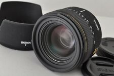 Sigma 30mm F1.4 Ex Dc Af Lens for Sony Minolta Alpha Mount with Hood #171213b