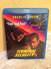 TERMINAL VELOCITY BLU-RAY 1994 ACTION-THRILLER MOVIE